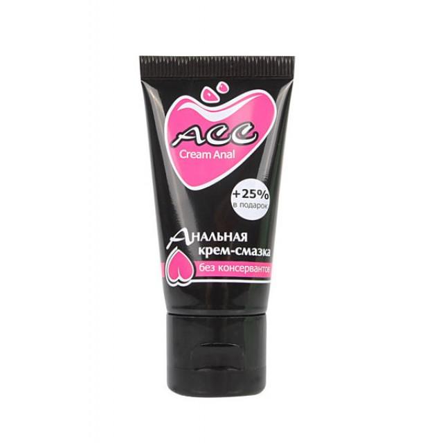 Лубрикант силиконовый Cream Anal ACC, 25мл