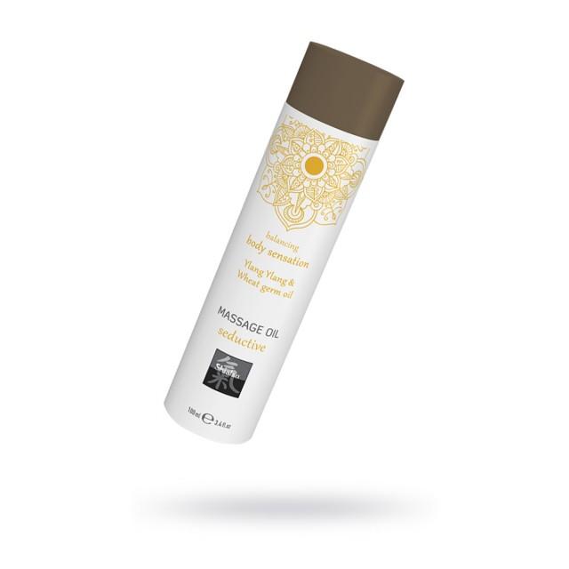 Массажное масло Seductive, Иланг Иланг и масло зародышей пшеницы, 100мл