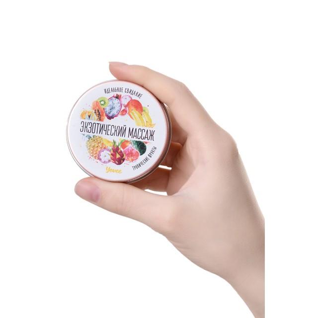 Массажная свеча Toyfa Yovee «Экзотический массаж», с ароматом тропических фруктов, 30мл
