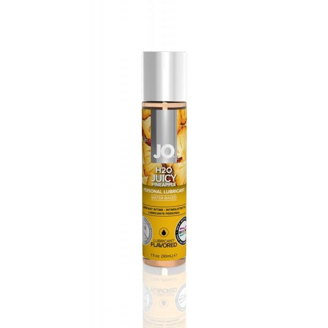 Лубрикант съедобный JO H2O - Juicy Pineapple, 30мл