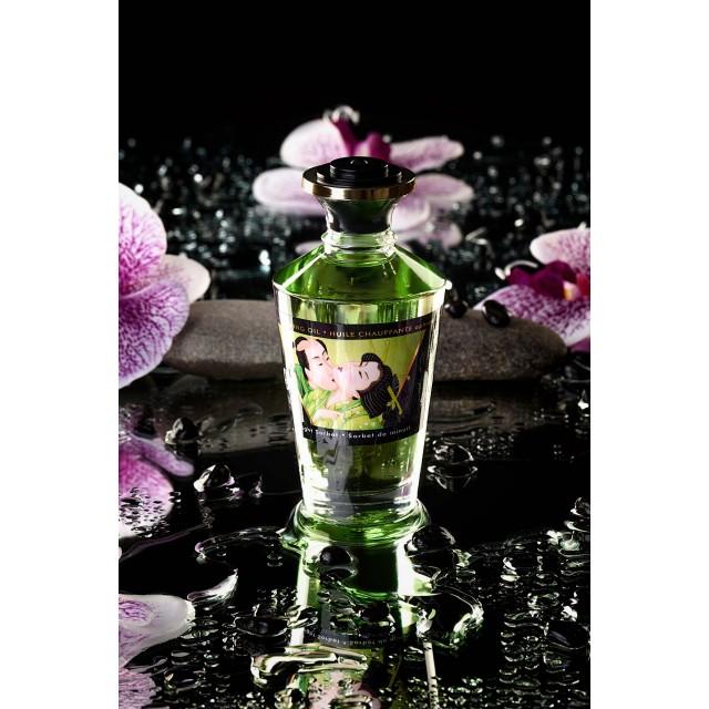 Масло для массажа Shunga Midnight Sorbet, разогревающее, аромат щербета, 100мл