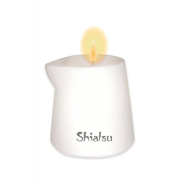 Массажная свеча HOT Shiatsu с ароматом Сандала, 130мл