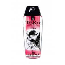Лубрикант Shunga Toko Aroma со вкусом клубники и шампанского, 165мл