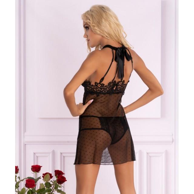 Эротическое платье LivCo Corsetti Neearis, Черный
