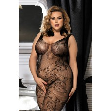 Костюм-сетка с доступом CANDY GIRL Cinnamon, Черный, 2XL