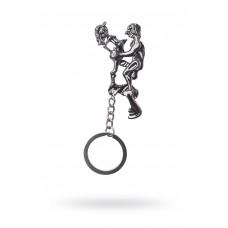 Сувенирный брелок для ключей, Пара, Металлический