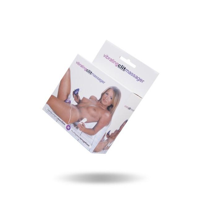 Вибропомпа для женщин Dream Toys, ПВХ, Фиолетовая