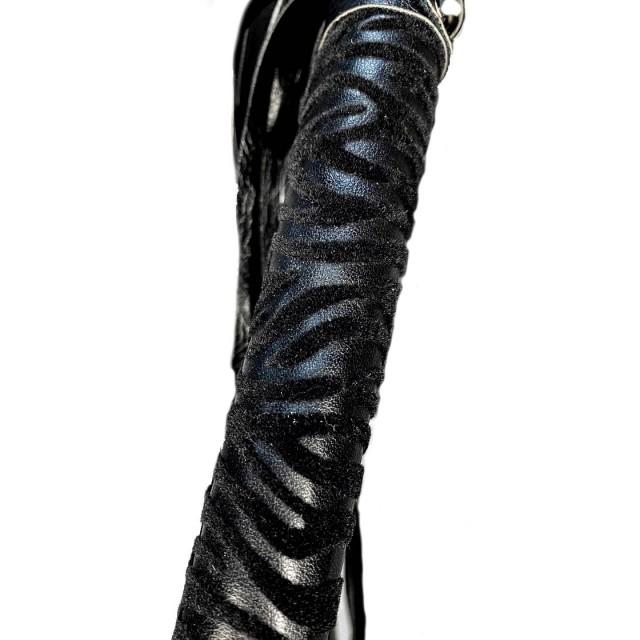 Плеть классическая LoA hard, PU кожа, Черная, 39см