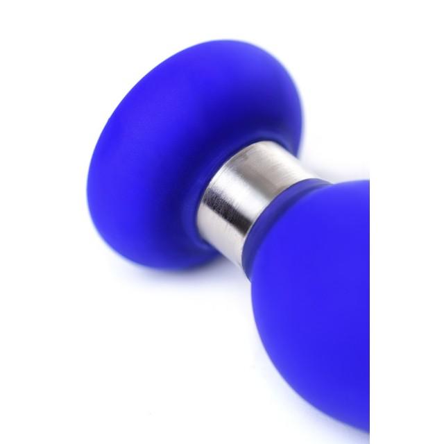 Анальная втулка Toyfa ToDo Сlassic, Размер S, Силиконовая, Синяя, 10см, Ø3см
