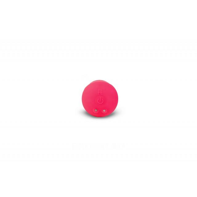Анальная пробка Gvibe Gplug с вибрацией, Силиконовая, Розовая, 8см
