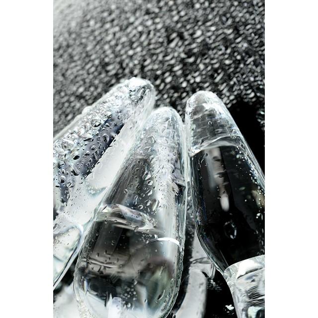 Набор анальных втулок Sexus Glass, Стекло, 14/12,5/12см, Ø4/3,5/3см