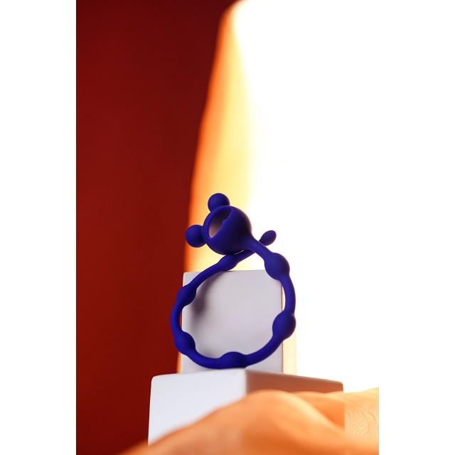 Анальная цепочка ToDo by Toyfa Froggy, Синяя, Ø1,4см