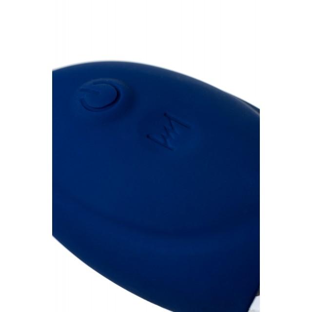 Анальная вибровтулка O'Play Prime с пультом ДУ, Синяя