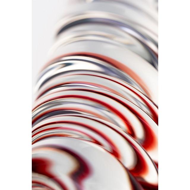 Анальная втулка Sexus Glass, Стекло, Прозрачная, Ø3,5см
