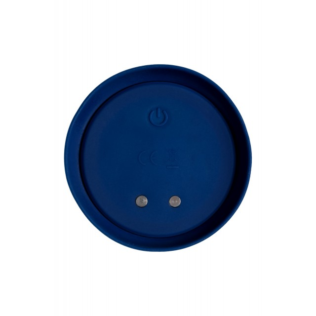 Анальная вибровтулка O'Play Wave с пультом ДУ, Силиконовая, Синяя, 15,5см