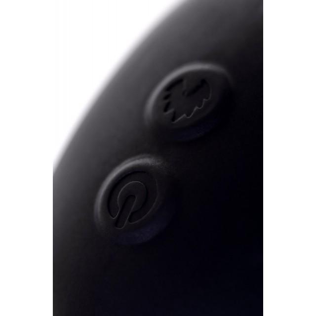 Стимулятор простаты Erotist, Силиконовый, Чёрный, 14,5см