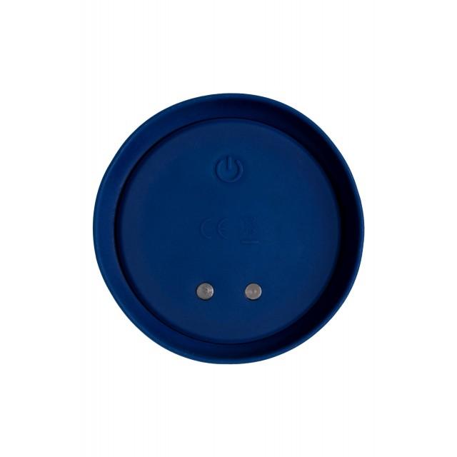 Анальная вибровтулка O'Play Unico с пультом ДУ, Синяя