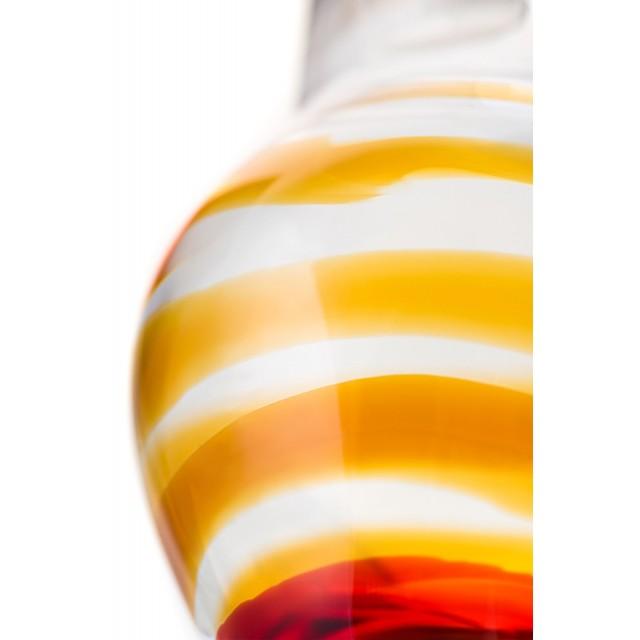 Анальная втулка Sexus Glass, Стекло, Прозрачная, Ø4см