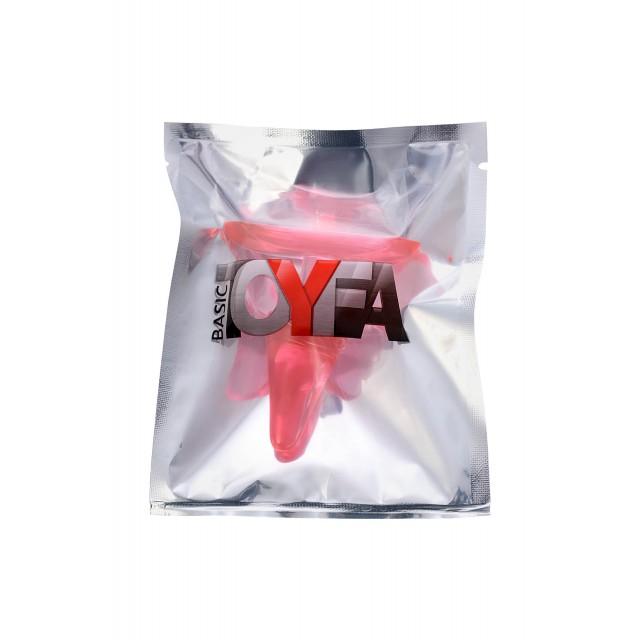 Анальная втулка TOYFA, ABS пластик, Красная, 6,5см, Ø2,5см