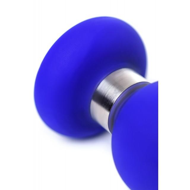 Анальная втулка ToDo by Toyfa Сlassic, Синяя, Ø3,7см