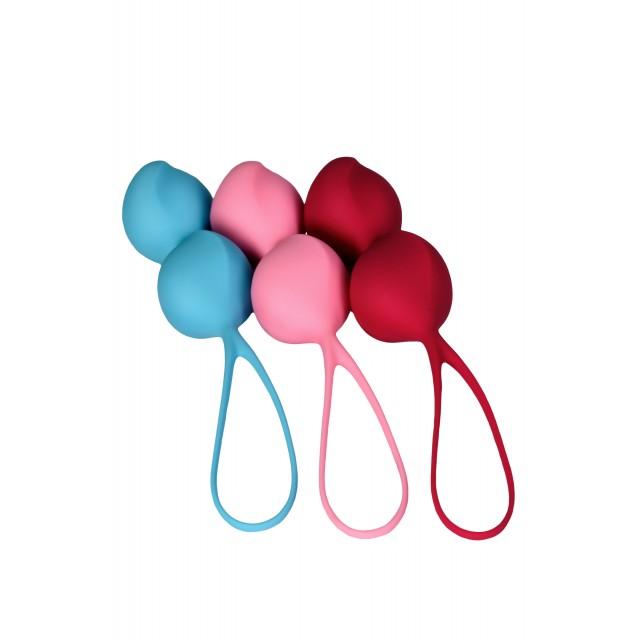 Набор вагинальных шариков Satisfyer Balls C03 Double, Силиконовые, Ø3,4 см